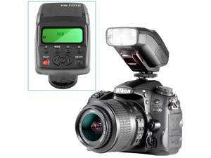 Neewer NW-610II Mini LCD Display On-camera Flash Speedlite for Canon Nikon Olympus Sony A7, A7S, A7R, A7II, A6000 and Other DSLR Cameras