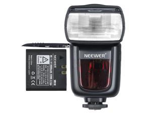 Neewer TT860 *LI-ION BATTERY* Speedlite Flash E TTL Camera Flash for Canon 5D Mark 2 3 6D 7D 70D  and other Canon Ditial SLR Cameras -650 Full Power POPS with Single Li-ion Battery! 1.5s Recycle Time