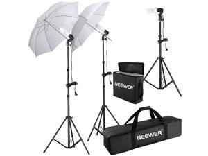 Neewer® 600W 5500K Photo Studio Day Light Umbrella Continuous Lighting Kit for Product,Portrait and Video Shoot Photography