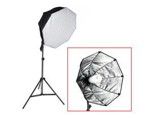 "Neewer® Photography Continuous 31""x31""/80x80cm Octagon Softbox Lighting Light Kit with CFL Bulb and Light Stand for Photo Studio Portraits,Product Photography and Video Shooting"