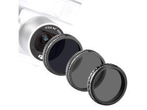 Neewer® for DJI Phantom 3 ,DJI Phantom 4 Professional and Advanced Filter Set, includes: (1)Polarizer Filter+(1)ND4 Filter+(1)ND8 Filter Made of High Definition Glass, Not for DJI Phantom 3 Standard