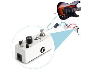 Neewer® Compact Classical Electronic Overdrive Guitar Effect Pedal True Bypass, Provides Two Tone Mode (High Peak / Low Peak Mode), Easy Controls with Great Responsive Performance