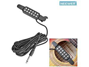 Neewer® 12 Hole Sound Pickup Acoustic/Electric Transducer Microphone Wire Amplifier Speaker for Acoustic Guitar Good