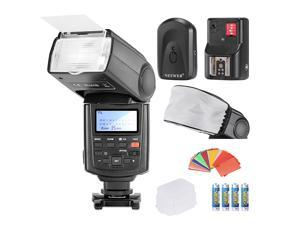 Neewer® NW680/TT680 Speedlite Flash E TTL *High-Speed Sync* Camera Flash Kit for Canon 5D MARK 2 6D 7D 70D 60D 50D 600D/T3i 550D/T2i and other CANON DSLR Cameras