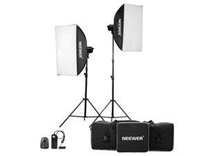 Neewer® 800W(400W x 2)Professional Photography Studio Strobe Flash Light Monolight Lighting Kit for Portrait Photography,Studio and Video Shoots( MT-400)