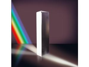 "Neewer 2.5""/6cm Optical Glass Triple Triangular Prism Physics Teaching Light Spectrum"