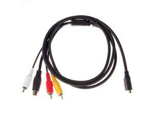 Neewer AV A/V Cable/Cord For Sony Handycam Camcorder VMC-15FS