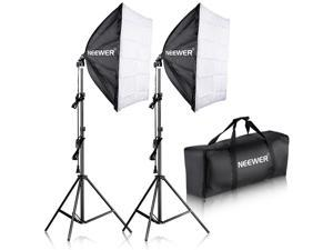 "Neewer® 700W Professional Photography 24""x24""/60x60cm Softbox with E27 Socket Light Lighting Kit for Photo Studio Portraits,Product Photography and Video Shooting"