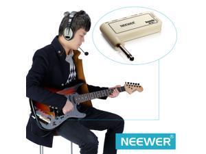 Neewer Portable Electric Guitar Plug Rechargeable Mini Headphone Amp Amplifier (Acoustic)