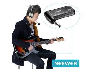 Neewer NW-GA-4 Portable Electric Guitar Plug Rechargeable Mini Headphone Amp Amplifier (Metal)