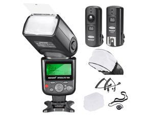 Neewer VK750 II i-TTL Flash for Nikon DSLR Camera Such as D7200 D7100 D7000 D5300 D5200,Includes:(1)VK750 II Flash+(1)2.4G Wireless Trigger+Hard&Soft Flash Diffuser+(1)Lens Cap Holder+N1/N3 Cable