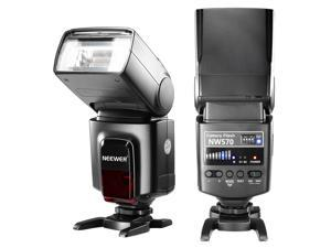 Neewer® Flash Speedlite with 433MHz Wireless System and 16 Channel RT Transmitter for Canon Nikon Sony Panasonic Olympus Fujifilm Pentax and Other DSLR Cameras with Standard Hot Shoe (NW570)