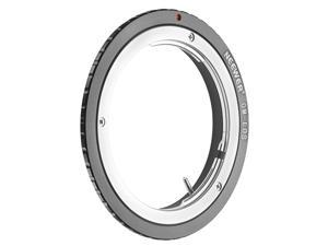 Neewer® Lens Mount Adapter for Olympus OM Zuiko Lens to Canon EOS EF Camera Body, Fits Canon EOS 1D 1DS Mark II III IV 5D Mark II 7D 40D 50D 60D 70D 550D 600D 650D 700D 100D 1100D
