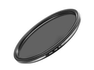 Neewer 77MM Ultra Slim ND2-ND400 Fader Neutral Density Adjustable Lens Filter for Camera Lens with 77MM Filter Thread Size, Made of Optical Class
