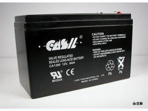 Casil 12v 8ah for APC Back-UPS ES 750 UPS Battery : Replacement