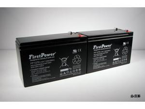 (2) FirstPower 12v 7ah for APC Back-UPS XS1500 XS 1500 12V 7Ah Battery