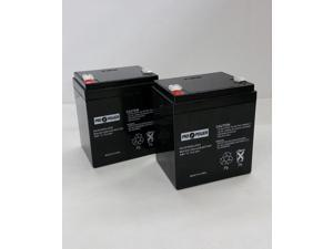 (2) Pro Power 12V 4AH   Replaces APC Smart-UPS 6000, SURT6000RMXLT, SURT6000