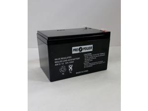 ProPower 12v 12ah F2 Scooter Battery for Enduring CB12-12, CB-12-12