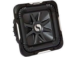KICKER 11S12L74 12' 1500W 4-Ohm Car Subwoofer L7 Solo Baric