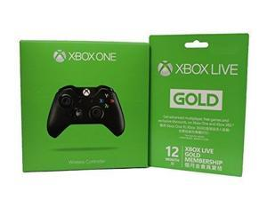 Microsoft Xbox LIVE 3 Month Gold Membership + Xbox One Wireless Controller