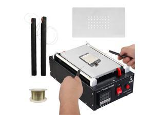 IMAX® LCD Screen Separator Machine Touch Screen Digitizer Removal Cell Phone LCD Glass Plate Build-in Pump Vacuum Repair LCD Screen for Smart Mobile Phone 7 Inch and Below
