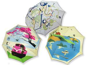 iUmbrella Taiwan Scenic Umbrella Souvenir, pack of 3, Automatic