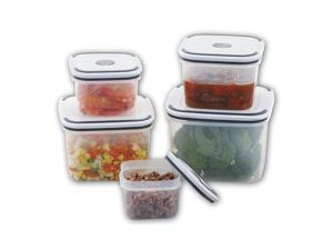 10-Piece Assorted Food Storage Container Set