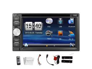 Car DVD Player Double 2 Din 6.2 Inch  In Dash  Car Stereo Support Car Radio Bluetooth Audio USB/SD Touchscreen CD Video Player Touch Screen Car Stereo