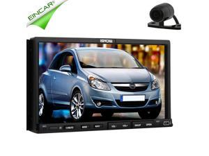 Christmas Sale!!! BT 2 din 1 New Touch Screen universal Car Stereo GPS Radio Double RDS 2 din Car DVD Player GPS USB/SD Navigation In dash Car PC Electronics Stereo video Free Map Free Camera