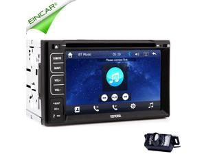 EinCar® GPS Navigator Car DVD Player Stereo With Capacitive Touch Screen Auto Video In Dash Navigation 2DIN Car Stereo Radio Car Bluetooth USB/SD Universal Interchangeable Player