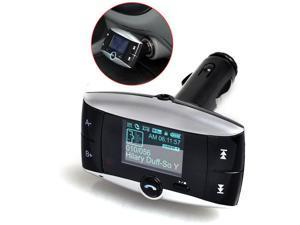 Car Kit FM Transmitter MP3 Player FM Modulator Bluetooth Wireless USB SD with Stereo Audio Remote Control