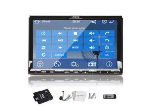 New Win 8 system 7-inch in Dash Car GPS Navigation DVD Player Audio Stereo HD Touchscreen with usb/sd/am/fm/bluetooth+ Free GPS Antenna+Free 4GB GPS Map