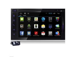 NO-KEY FULL Touch Tablet 2-DIN In-Dash Car DVD Player Radio Stereo GPS Navigation System WiFi+Android4.2 PC Android 3G 2Din Car DVD Stereo In Dash Media Player GPS WIFI+Camera