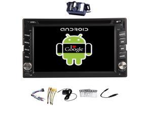 Android 4.4 2 din Capacitive Touch Screen GPS Navigation Car DVD CD Video Player 6.2'' Car Stereo FM AM RDS Radio+Bluetooth+Camera