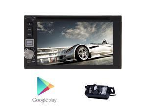 NEW Android 4.2.2 Audio Universal 6.2-inch car CD DVD player GPS navi receivers with Multi-touch screen Car stereo WIFI/3G Internet Bluetooth AM FM Radio ipod USB/SD +remote control+Free Rea