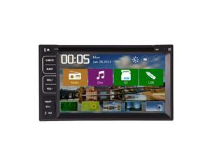 Christmas Sale!!! FM/AM New Arrival Standard 2 USB/SD Double Din Car GPS DVD Player Stereo with Bluetooth 6.2 Inch Car Radio Radio Stereo Headunit Car PC Stereo In-Dash HD RDS RDS CD In-Dash