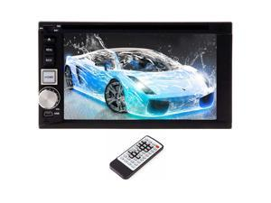 Christmas Sale!!! Car Double din Car Stereo Stereo Radio WinCE 6 with FAST 800MHZ avi CPU car DVD CD Player 6.2inch BT Digital Touchscreen Bluetooth ready with Bluetooth MP3 MP4 FM AM RDS USB