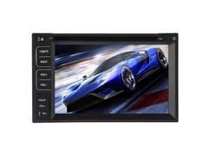 Christmas Sale!!! Receiver Car Stereo 6.2Touch VCD Screen Car GPS Navigation Player with Receiver Dvd cd mp3 mp4 usb sd Touch Screen AM FM Radio bluetooth stereo Accessory audio Radio Double 2