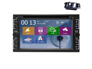 Christmas Sale!!! RDS 6.2 INCH Car Motors DVD Player Touch Screen GPS Navigation PC Two din In Dash Car DVD In-Dash Player with GPS, Bluetooth Ipod Motors 4gb Card with Free Map Card Receiver