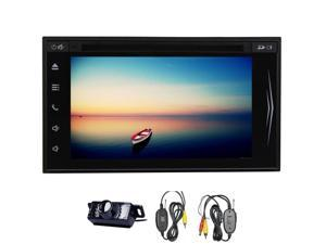 6.2 Inch Capacitive Big Touch Screen External Memory 32GB Car DVD Stereo Video Player Head Unit Support Steering Wheel Control& Ipod Built In Bluetooth & Microphone Hands-free Call FM Transmitter