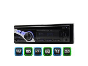 In dash Single 1din auto car radio with digital FM receiver MP3 player Car CD DVD Player Detachable front panel audio Stereo USB SD Aux EQ WMA multimedia System radio stereo Remote control headunit