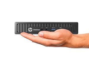 HP EliteDesk 800 - Business Grade Mini Desktop PC (Intel i5 processor, 16GB RAM, 1TB HDD + 256GB SSD, Win 7 Pro)
