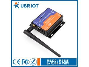 Serial RS232 RS485 to Wifi 802.11 b/g/n and Ethernet Converter