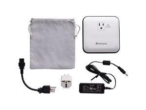 Verbatim Portable Power Outlet 12000mAh