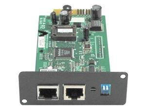 Minuteman Snmp-net Remote Power Management Adapter - 10/100base-tx, Serial