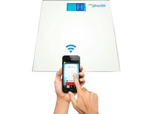 PYLE  PHLSCBT2WT  Bluetooth Digital Weight Scale and 'Pyle Health' App (White)