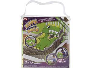 Techno Source Zippy Sack - Dino (Twin Size)