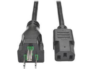 Tripp Lite Model P006-003-HG10 3 ft. HospHospital-Grade Computer Power Cord, 10A, 18 AWG (NEMA 5-15P to IEC-320-C13)