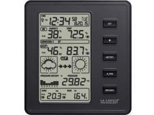 La Crosse Technology 308-2316 Pro Weather Station Black Professional Weather Station Black