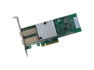 ENET Chelsio T520-CR Compatible 10Gb Dual-Port PCI Express x8 Network Interface Card (NIC) 2x Open SFP+ Ports Intel